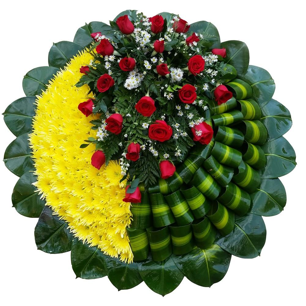 Corona funebre bogota