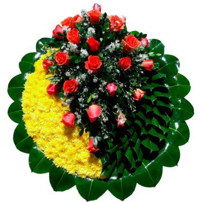 Corona funebre tekel 1