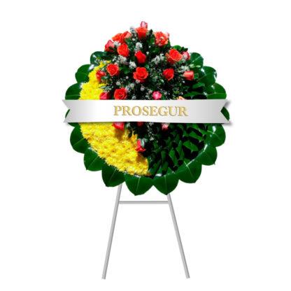 corona funebre tekel