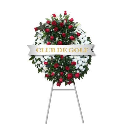 Corona De flores Fúnebre Santa Ana 1